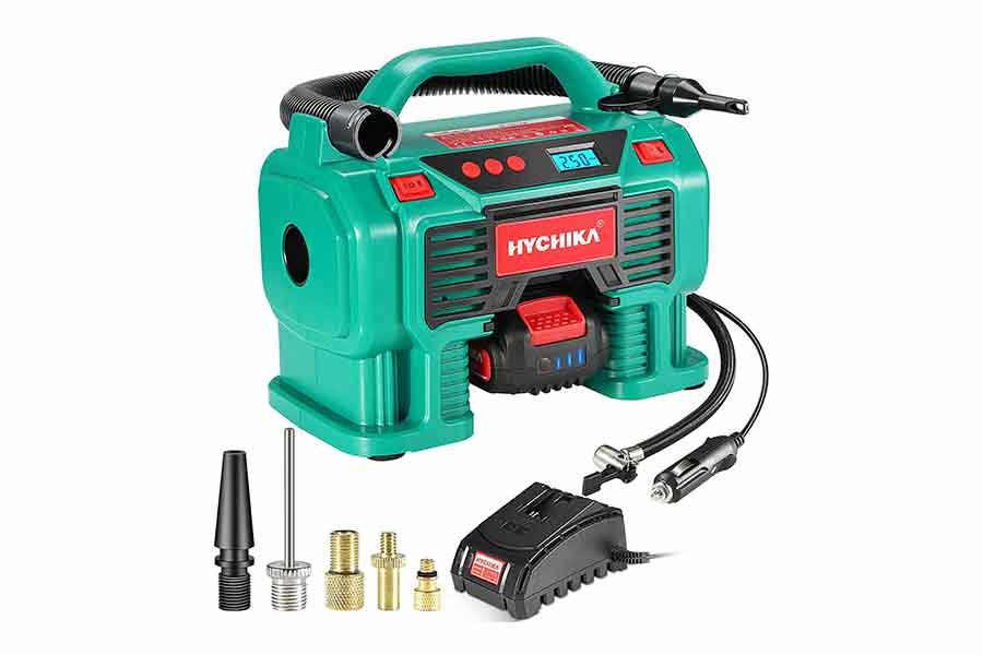 Compressore-Aria-Batteria-18V-HYCHIKA