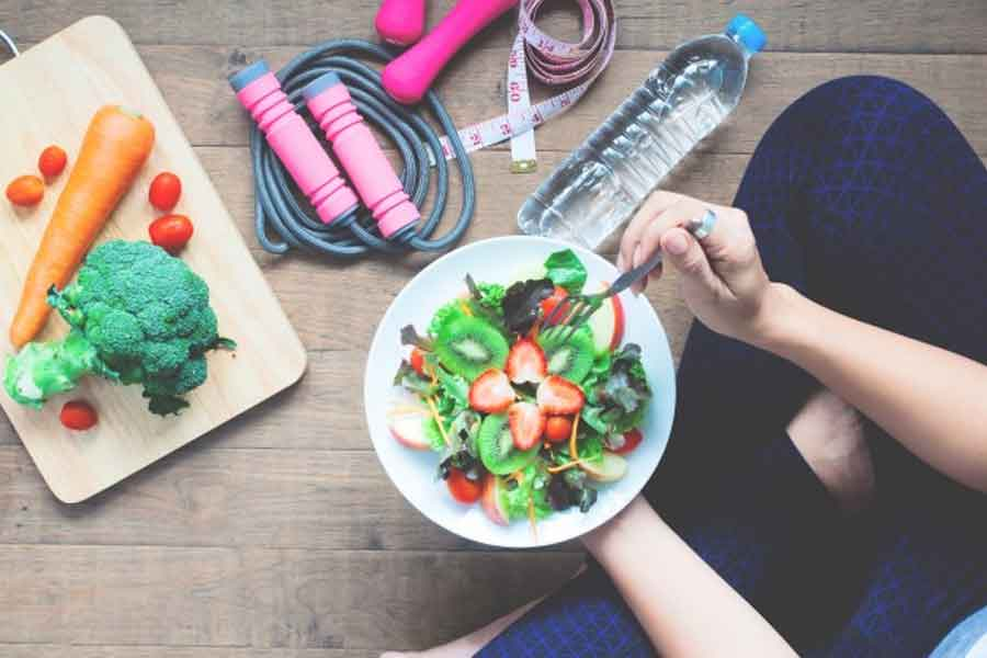 Perdere-peso-più-velocemente-combinando-sport-e-alimentazione-sana