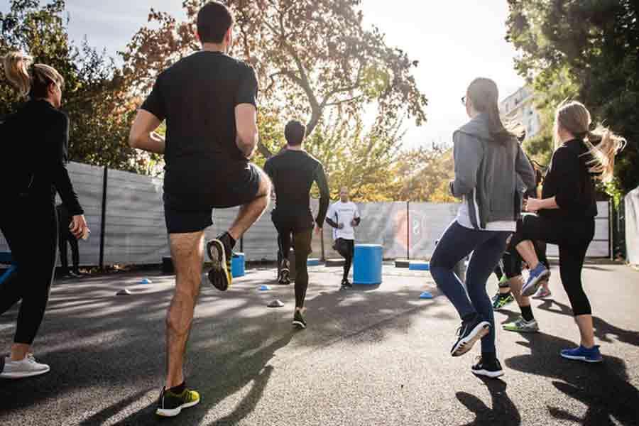 Praticare esercizio fisico